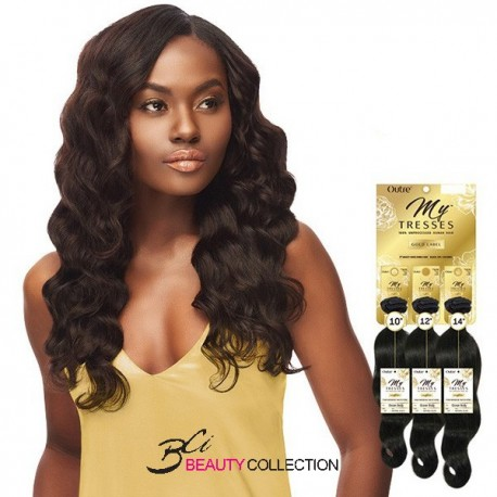 OUTRE MYTRESSES GOLD LABEL UNPROCESSED HUMAN HAIR - OCEAN BODY