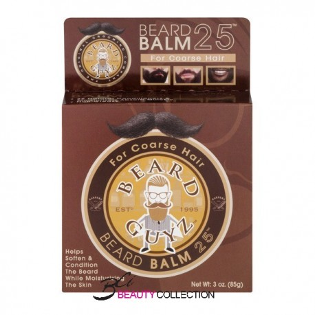 BEARD GUYZ BEARD BALM 25 FOR Coarse Hair 3oz