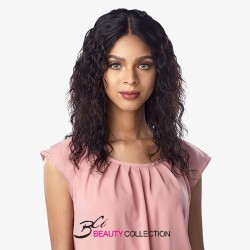 SENSATIONNEL 10A 100% VIRGIN HUMAN HAIR LACE WIG-NATURAL WAVE