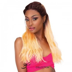 JANET COLLECTION EXTENDED PART LACE BRAID SUNSHINE WIG